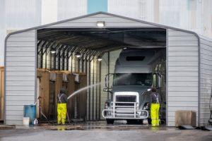 Disoleatori Depuratori per acque di scarico da lavaggio automezzi da lavoro