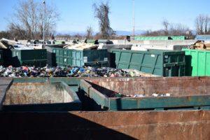 Disoleatori per ecocentri e piazzali di stoccaggio materiali di rifiuto