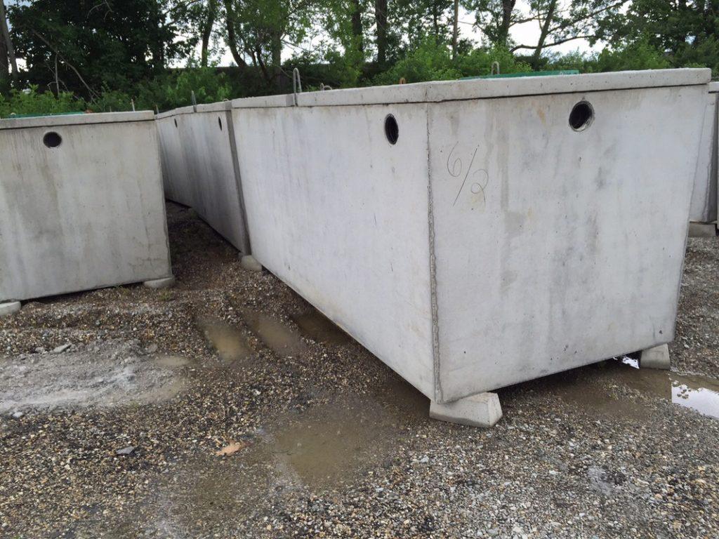 Vasche biologiche in cemento armato